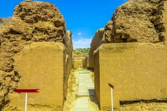 Asghabat Parthian gamla Nisa 06 arkivbild