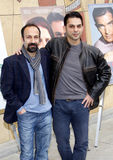 Asghar Farhadi and Payman Maadi Royalty Free Stock Photos