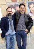 Asghar Farhadi and Payman Maadi Royalty Free Stock Photos