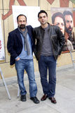 Asghar Farhadi and Payman Moaadi Royalty Free Stock Image