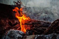 Ash, Blaze, Bonfire, Burn Stock Image