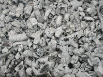 Ash from burned brushwood Royalty Free Stock Images