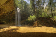 Ash Cave in Hocking HIlls Ohio Stock Photos