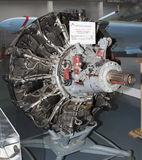 ASH- 82FN- Engine Aircraft (1943) Maxi. power, hp-1850. Used in Stock Images