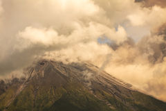 Ash And Gas From Tungurahua Volcano Stock Photography