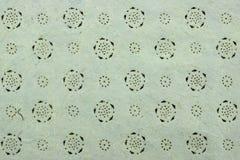 Ash Gray Vintage Indian Textured Handmade-Document Achtergrondtekst Stock Afbeelding