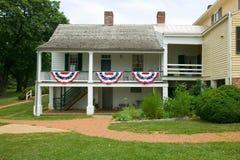 Ash Lawn-Highland Home van President James Monroe, Albemarle-Provincie, Virginia Royalty-vrije Stock Afbeelding