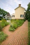Ash Lawn-Highland Home van President James Monroe, Albemarle-Provincie, Virginia Stock Afbeeldingen