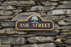 Ash Street in Bowness on Windermere Stock Images