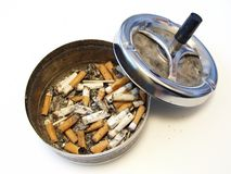 Ash tray Stock Photo