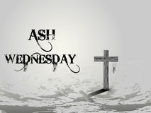 Ash Wednesday Abstract Royalty Free Stock Photos