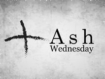 Ash Wednesday Background Photos libres de droits