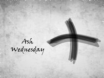 Ash Wednesday Background Images stock