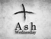 Ash Wednesday Background Image libre de droits