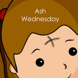 Ash Wednesday Background Photographie stock libre de droits