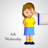 Ash Wednesday Background Royalty Free Stock Photography