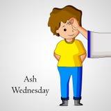 Ash Wednesday Background Stock Photo