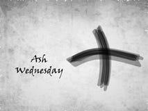 Ash Wednesday Background Stock Images
