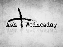 Ash Wednesday Background. Illustration of elements for Ash Wednesday Royalty Free Stock Image