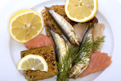 Ash Wednesday fish Royalty Free Stock Image