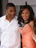 Ashanti,Nelly Stock Image