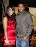 Ashanti and Nelly Stock Photos