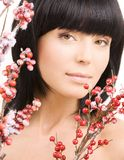 ashberry γυναίκα Στοκ εικόνες με δικαίωμα ελεύθερης χρήσης