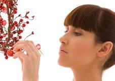 ashberry женщина Стоковые Фотографии RF