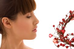 ashberry kvinna Arkivbilder