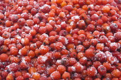 Ashberry macro Stock Image
