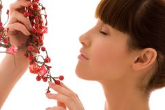Ashberry woman Stock Images