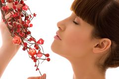 Free Ashberry Woman Royalty Free Stock Photo - 10418855