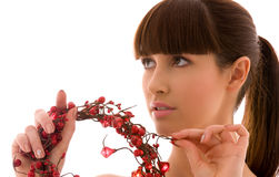 Ashberry woman Stock Photos