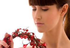 Ashberry woman Stock Image