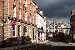Ashbourne在德贝郡,英国 库存图片