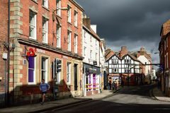 Ashbourne i Derbyshire, UK Arkivbilder