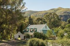 Ashbrook kraju stróżówka w Clarens w Bezpłatnej stan prowinci Zdjęcie Royalty Free
