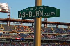 Ashburn-Gasse Lizenzfreie Stockfotografie