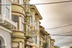 Ashbury em San Francisco imagem de stock royalty free