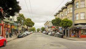 Ashbury in San Francisco Stock Afbeelding