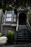 710 Ashbury St, the Grateful Dead House, 2. This 710 Ashbury St Victorian house was built in 1900. During the 1960`s, San Francisco, and the Haight especialy stock photography