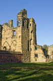 Ashby de la Zouch Castle. The present castle in the Leicestershire village of Ashby de la Zouch was built on the site of a old Norman fortified Manor house Stock Images