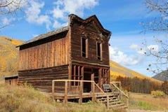 Ashcroft miasto widmo, Kolorado Zdjęcia Stock