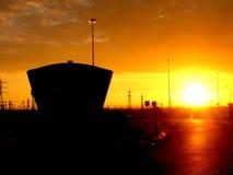 ashdod αυγή Ισραήλ Στοκ Φωτογραφίες