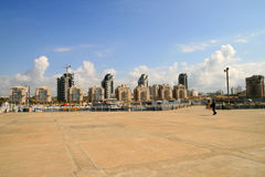 Ashdod-1. Travel on cities of Israel, the city of Ashdod Stock Images