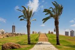 Ashdod ignamu park. Obrazy Royalty Free