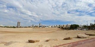 Ashdod plaża Obraz Stock