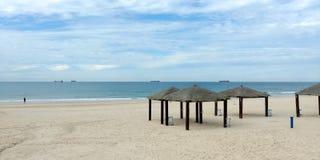 Ashdod plaża Zdjęcie Royalty Free