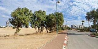 Ashdod plaża Fotografia Royalty Free