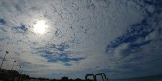 Ashdod strand Royaltyfria Foton